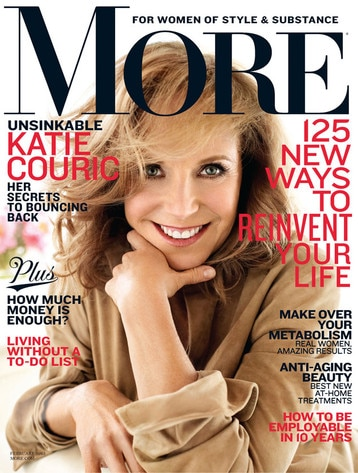 Katie Couric, More Magazine