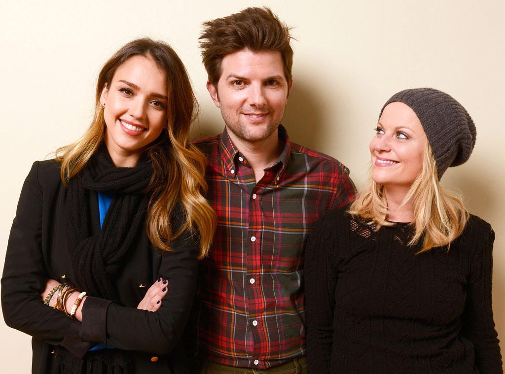 Jessica Alba, Adam Scott, Amy Poehler