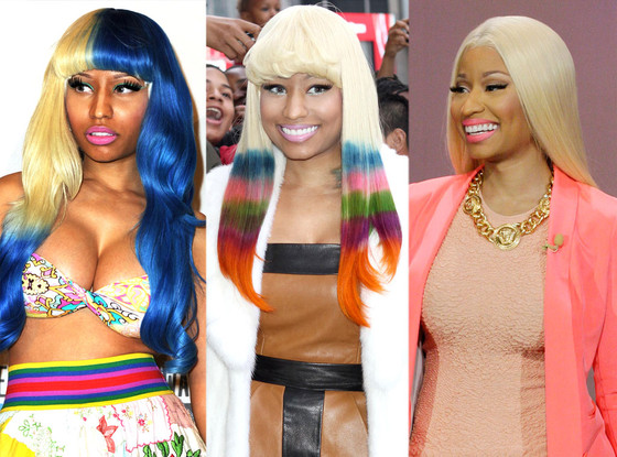 Nicki Minaj Hair Gallery