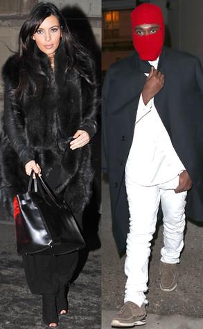 Kayne West, Kim Kardashian
