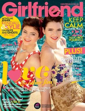 Kylie Jenner, Kendall Jenner, Girlfriend Magazine