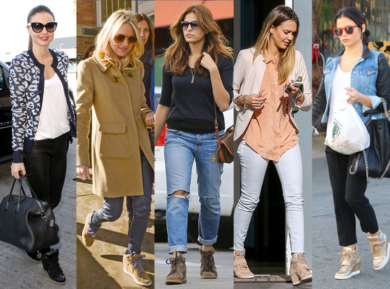 Miranda Kerr, Naomi Watts, Eva Mendes, Jessica Alba, Jenna Dewan