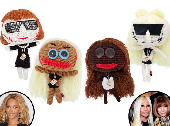 Mua Mua Dolls, Anna Wintour, Donatella Versace, Beyonce