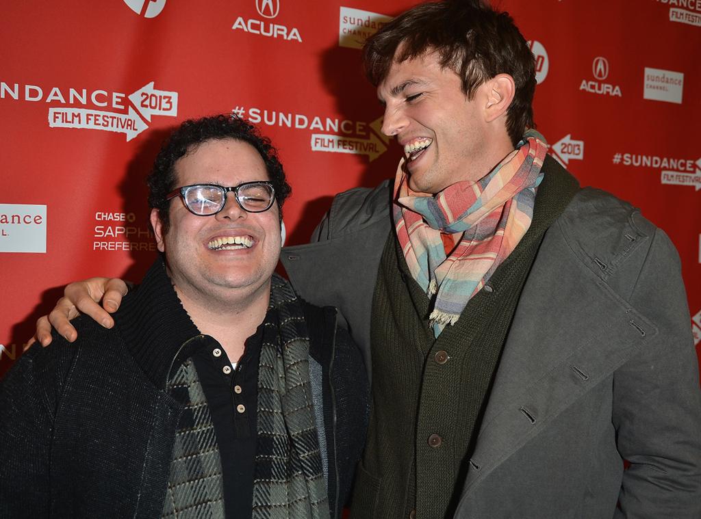 Josh Gad, Ashton Kutcher