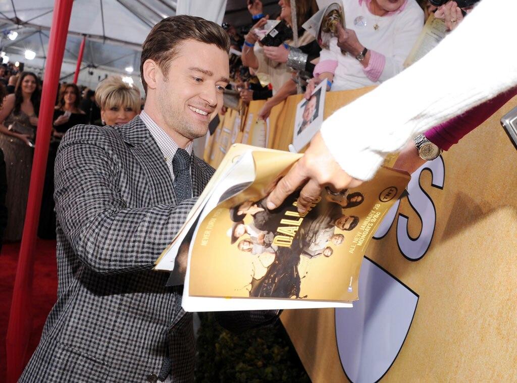 Justin Timberlake, SAG Candids