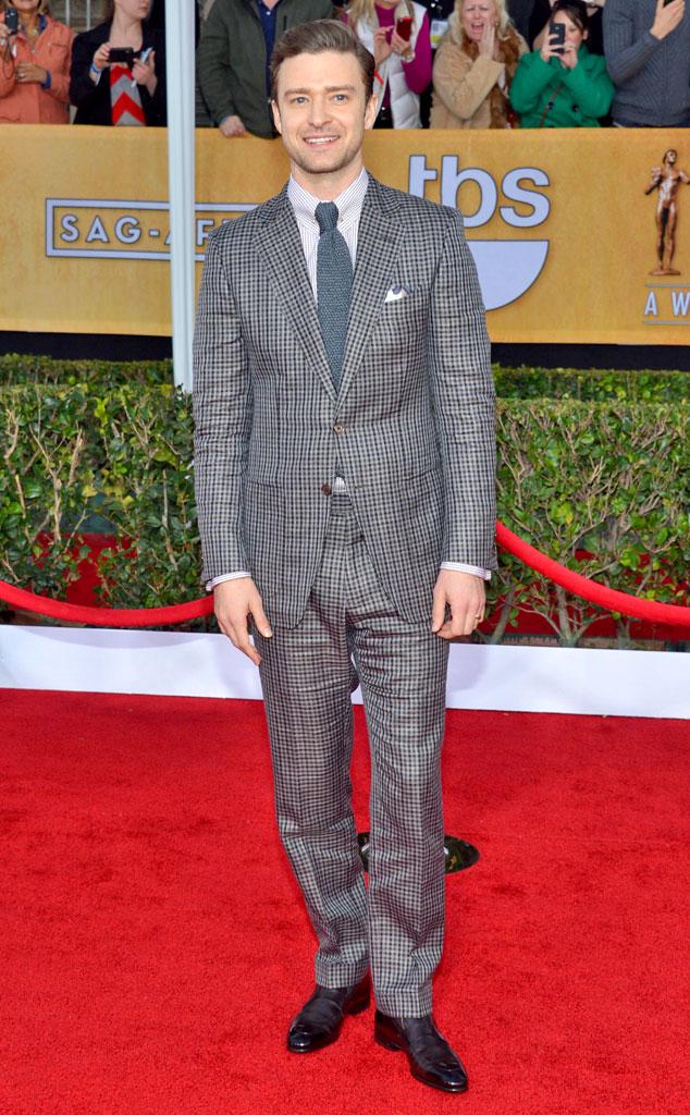 Justin Timberlake, SAG Arrivals