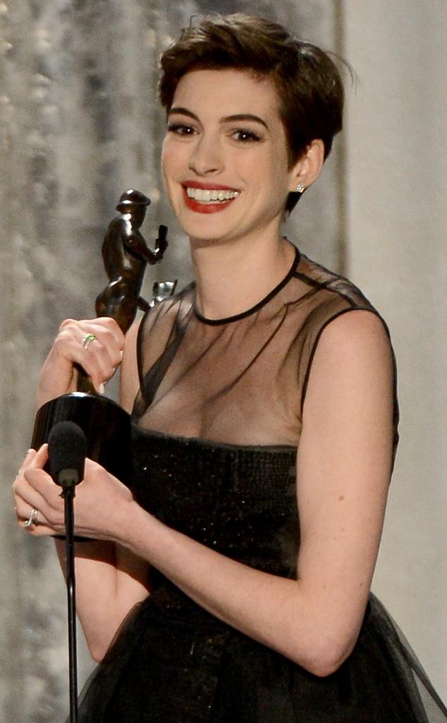 Anne Hathaway, Winner, SAG Awards