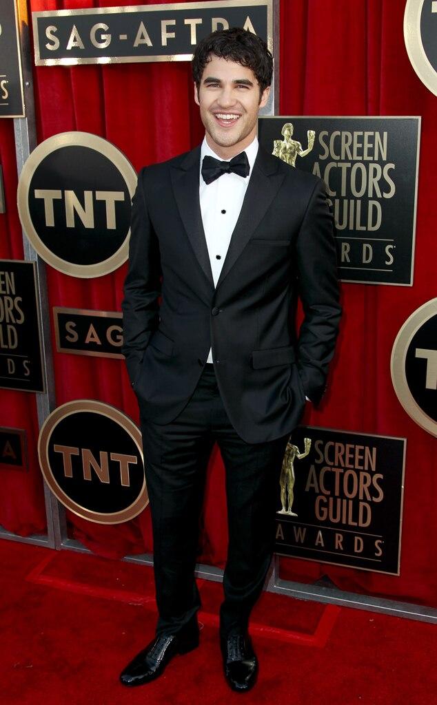 Darren Criss, SAG Arrivals