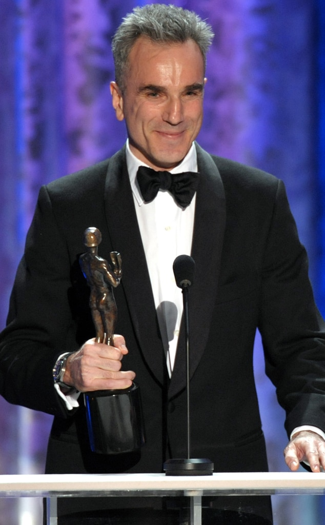Daniel Day-Lewis, Winner, SAG Awards