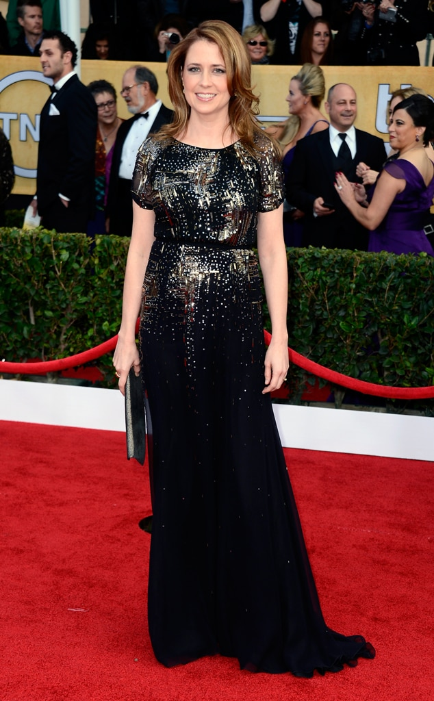 Jenna Fischer, SAG Arrivals