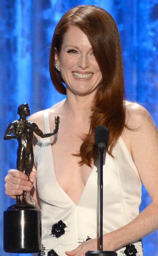 Julianne Moore, Winner, SAG Awards