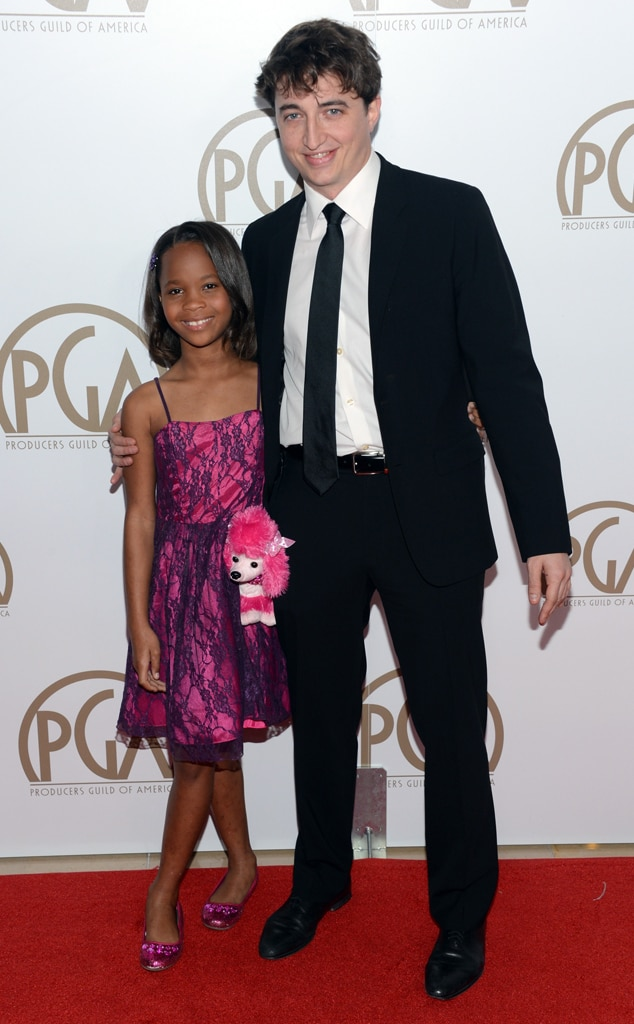 Quvenzhane Wallis, Benh Zeitlin, Producers Guild Awards