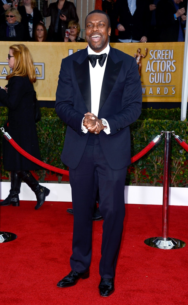 Chris Tucker, SAG Arrivals