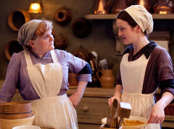 Lesley Nicol, Sophie McShera, Downton Abbey