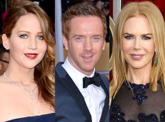 SAG, Damian Lewis, Jennifer Lawrence, Nicole Kidman
