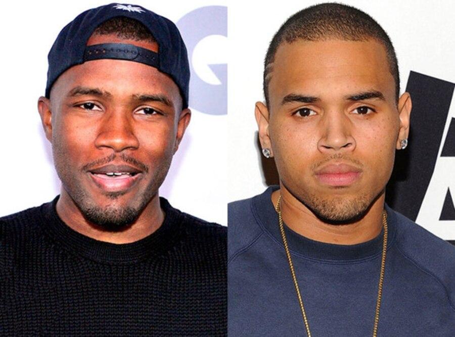 Frank Ocean, Chris Brown