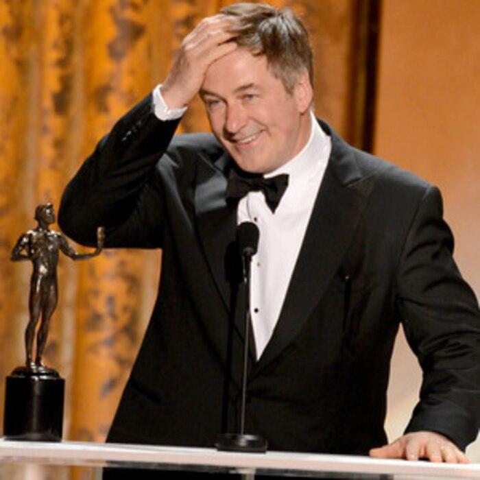 Alec Baldwin, Winner, SAG Awards