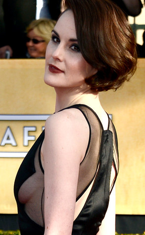 Michelle Dockery, SAG Arrivals