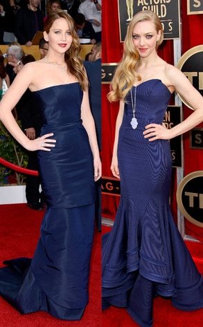 Jennifer Lawrence, Amanda Seyfried