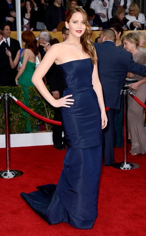 Jennifer Lawrence, SAG Arrivals