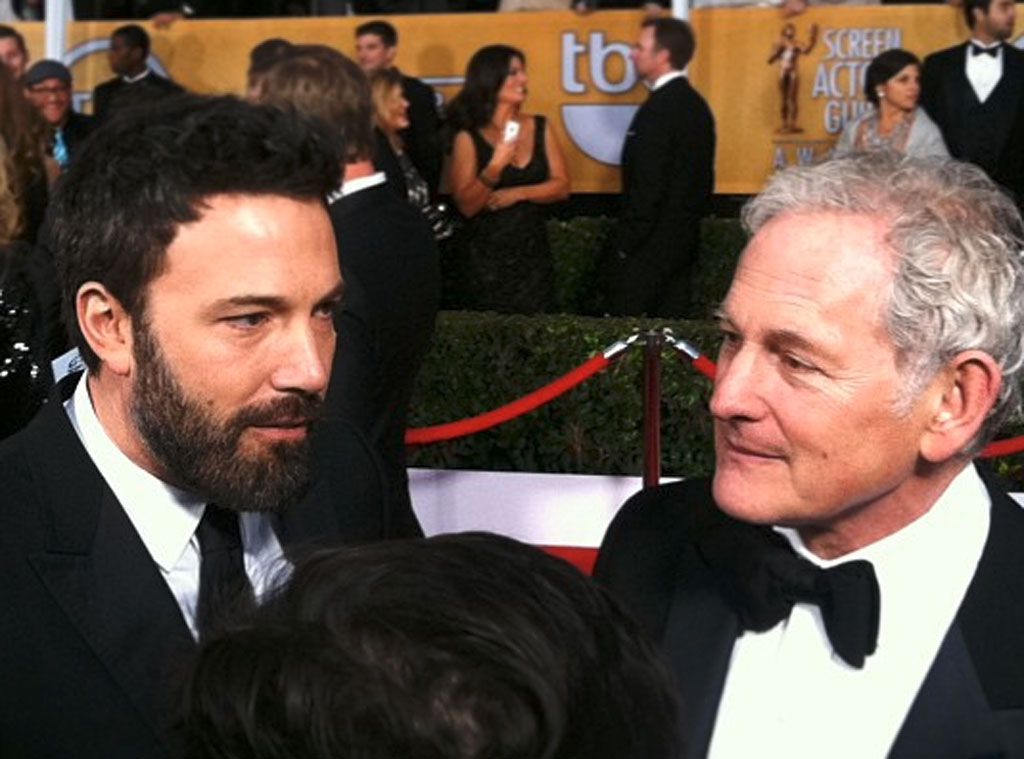 Malkin Twit Pics, Ben Affleck and Victor Garber