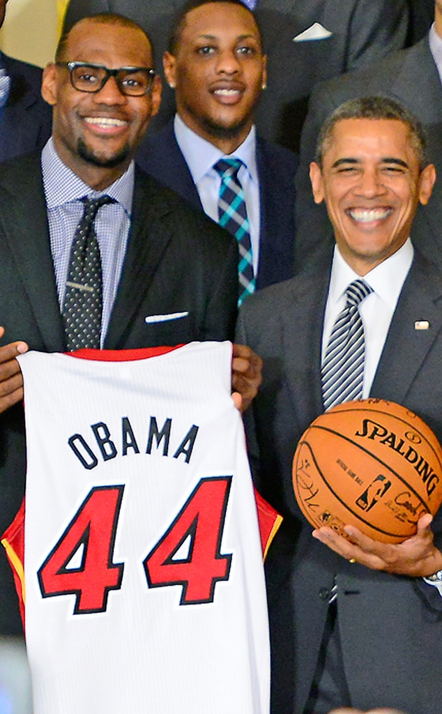 LeBron James, President Barack Obama