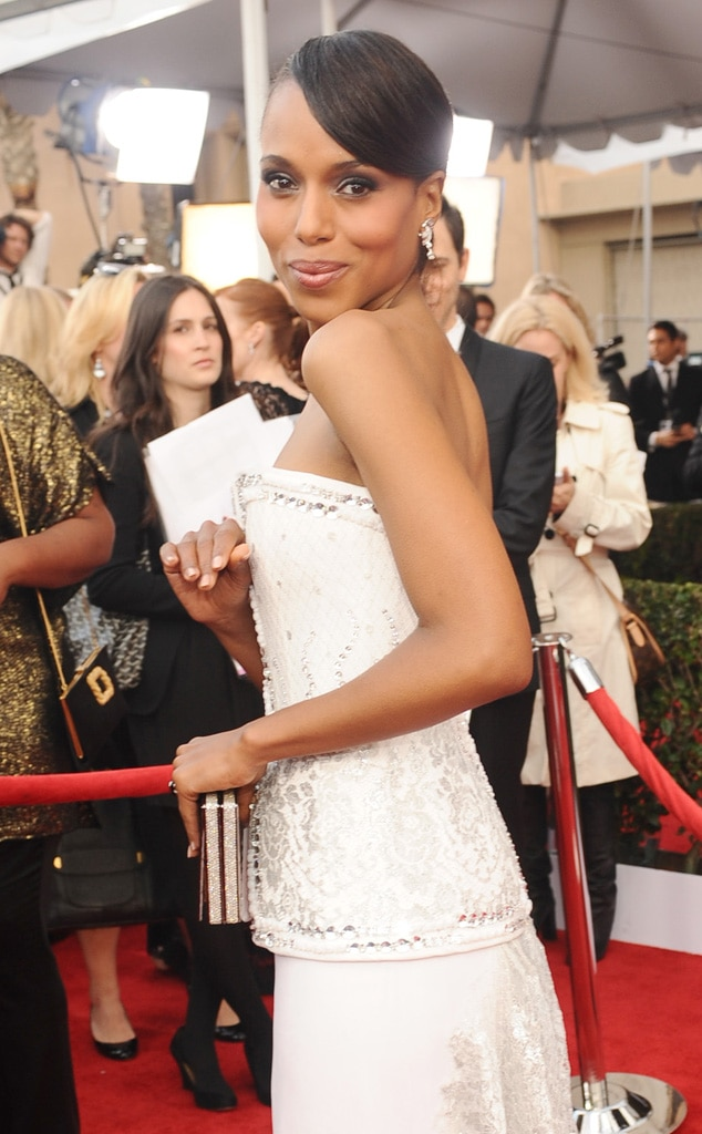 Kerry Washington, SAG Candid