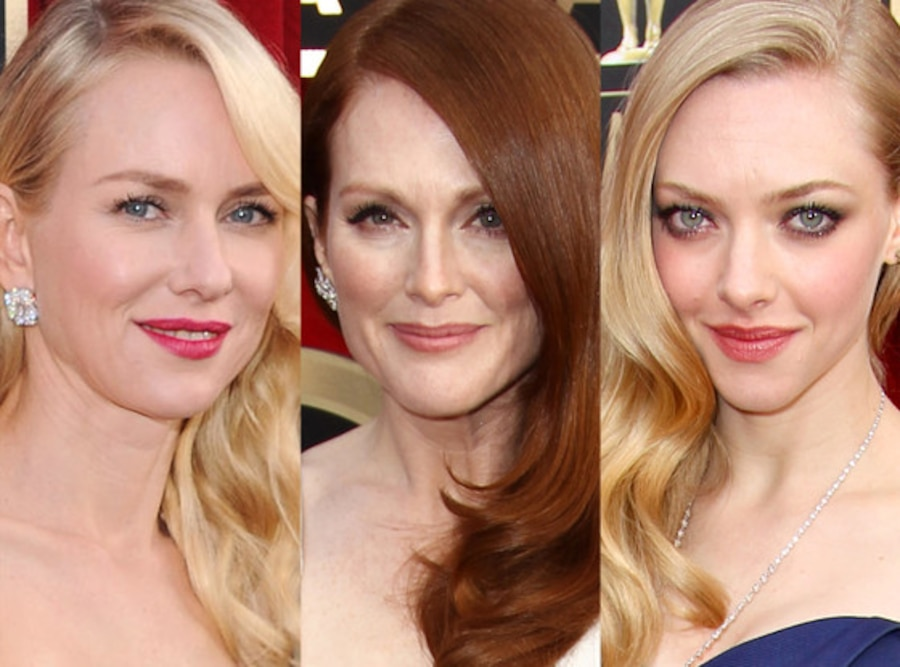 Naomi Watts, Julianne Moore, Amanda Seyfried, SAG Awards, Beauty
