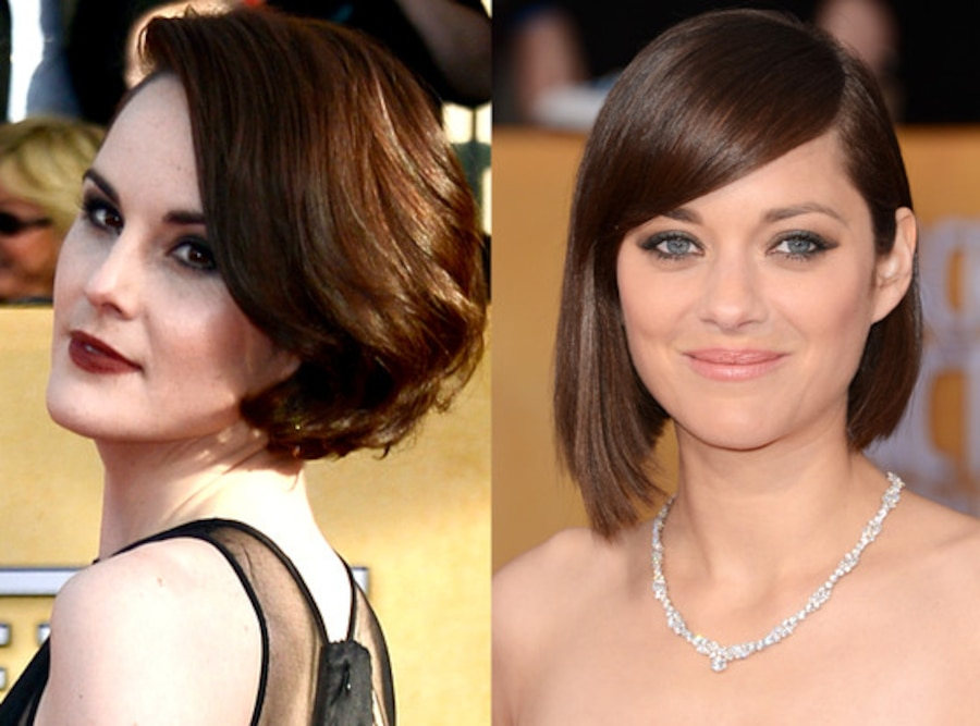 Michelle Dockery, Marion Cotillard, SAG Awards, Beauty