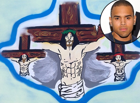 Chris Brown Painting