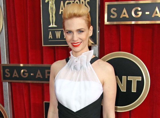 January Jones, SAG Arrivals