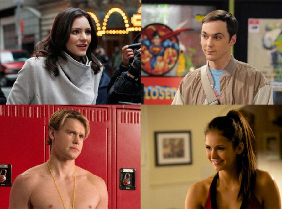 Chord Overstreet, Glee, Katherine McPhee, Smash, Jim Parsons, Big Bang Thoery, Nina Dobrev, Vampire Diaries