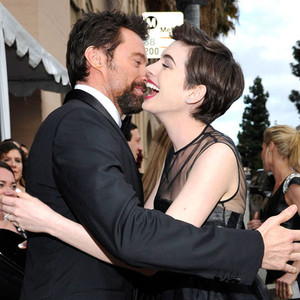 Hugh Jackman, Anne Hathaway, SAG Candids