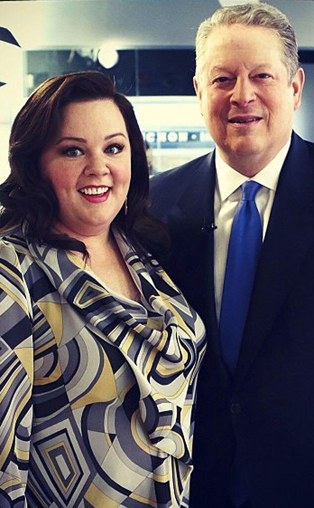 Melissa McCarthy, Al Gore, Twit Pic