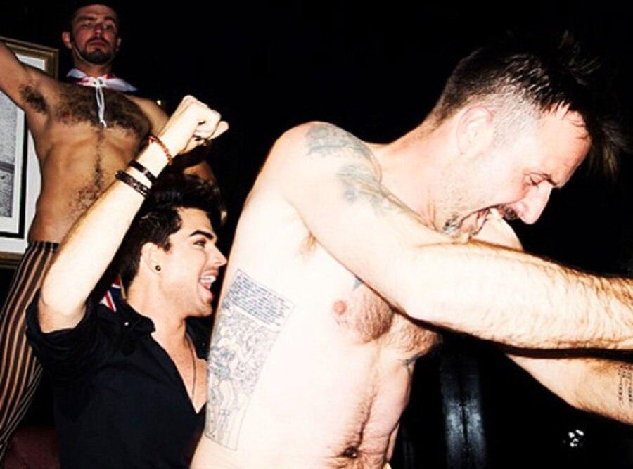 David Arquette, Adam Lambert