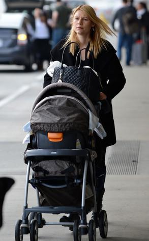 Claire Danes Strolls Baby Boy Cyrus Through LAX | E! News
