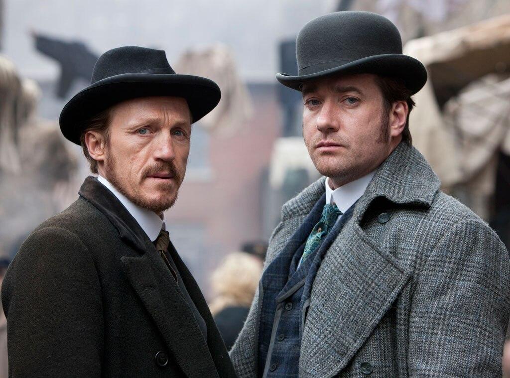 Jerome Flynn, Matthew MacFadyen, Ripper Street, BBC America
