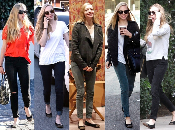 Amanda Seyfried, Matt Bernson Waverly Cap Toe flats