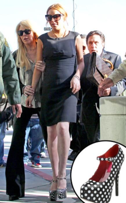 Lindsay Lohan, Shoes