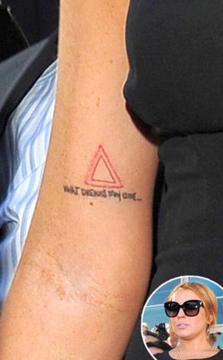 Lindsay Lohan,Tattoo