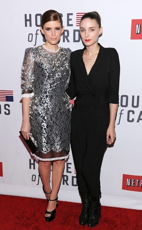 Kate Mara, Rooney Mara, House of Cards
