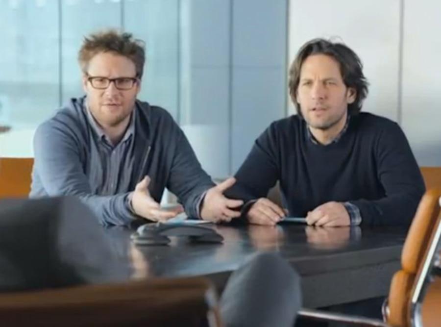 Seth Rogen, Paul Rdd, Samsung Mobile USA