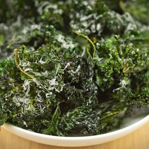 Superbowl Snacks, Kale Chips