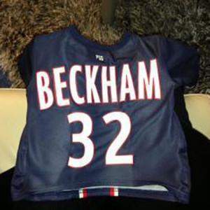 David Beckham Jersey, Facebook