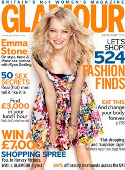 Emma Stone, Glamour UK