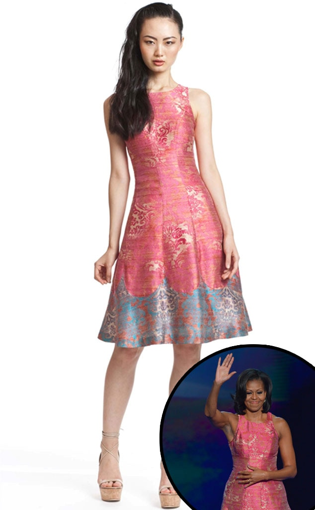 Michelle Obama, Tracy Reese Dress