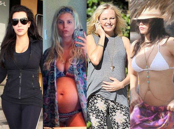 Kim Kardashian, Jessica Simpson, Malin Akerman, Jenna Dewan-Tatum