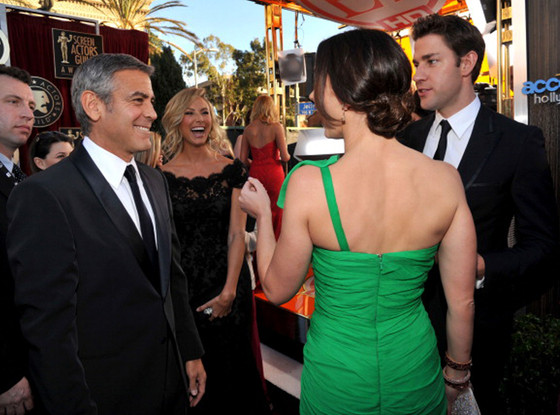 George Clooney, Stacy Keibler, Emily Blunt, John Krasinski