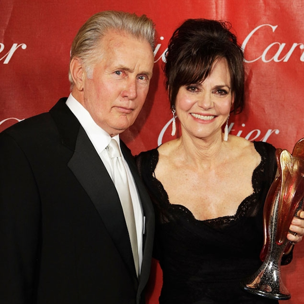 Martin Sheen & Sally Fields From 2013 Palm Springs Film