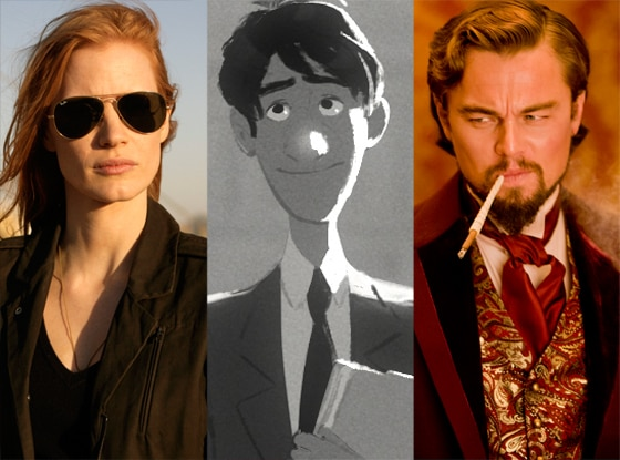 Zero Dark Thirty, Paperman, Django Unchained